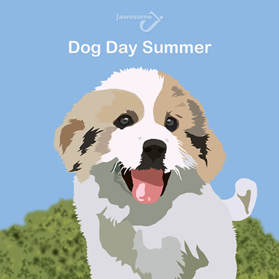 Dog Day Summer Mixtape 2011 cover