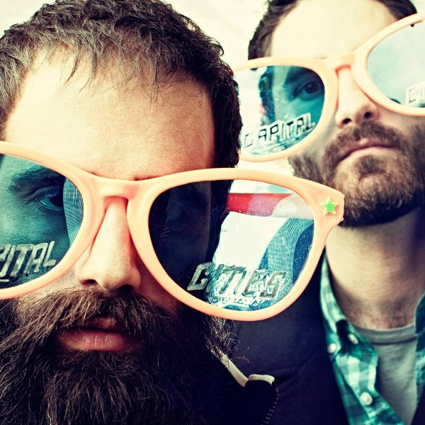 Capital Cities - Capital Cities EP cover